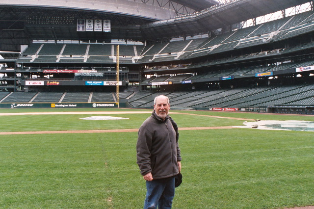 Tom at Safeco Field