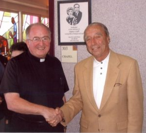 Fr. Joe and Al Graff November 2001